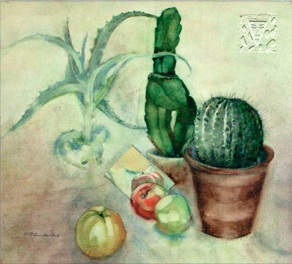 Still-life with a cactus